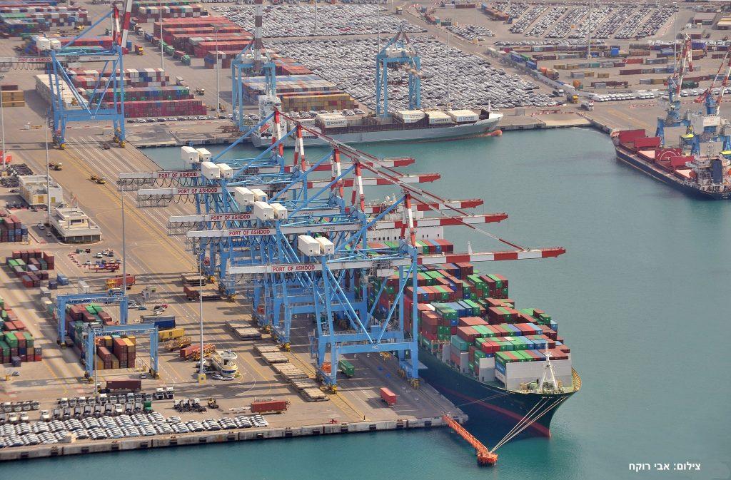 ביקור בנמל אשדוד
