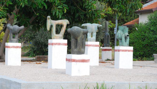 מוזאון על שם משה שק בקיבוץ בית ניר