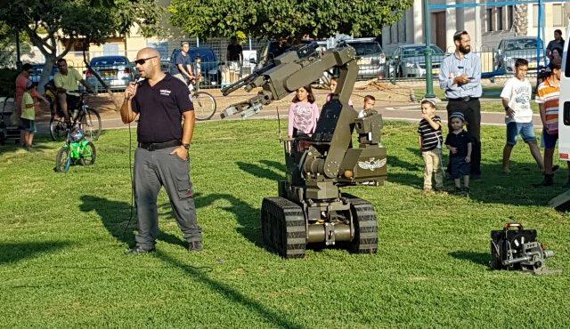 חוגגים 70 שנה למשטרת ישראל