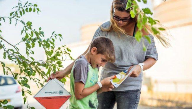 ניווט משפחות ביער חרובית