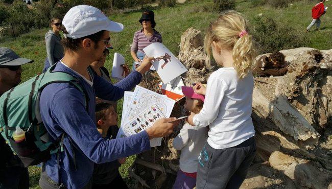 ניווט משפחתי ביער קוממיות (מצודת יואב)